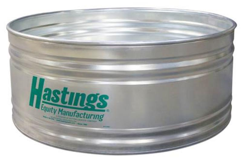 Hastings 22GA Steel Round Stock Tank - 5\' x 2\' - 281 Gallon