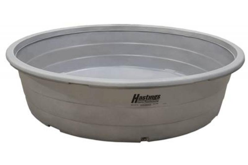 "Hastings Plastic Round Stock Tank - 10\' x 28"" - 1100 Gallon"