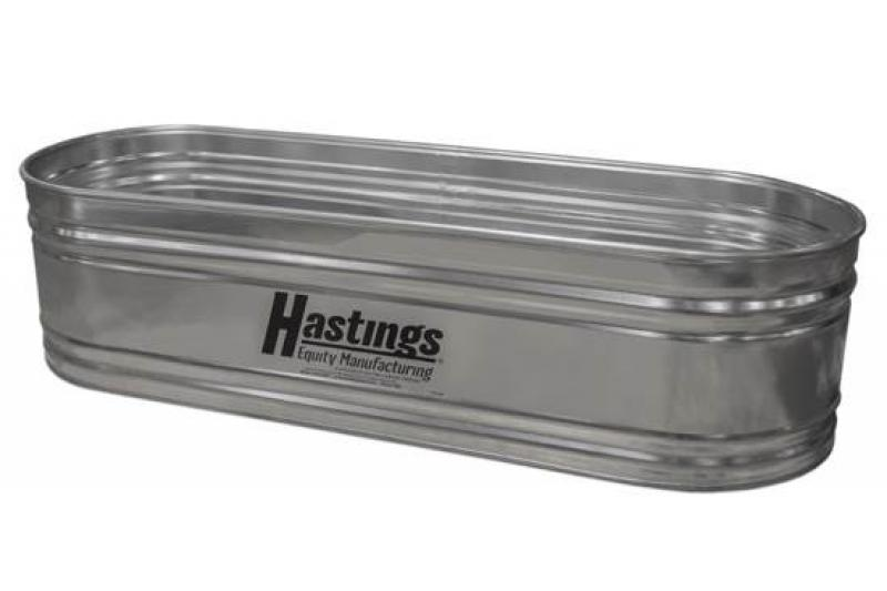 Hastings 20GA Steel Round End Stock Tank - 2\' x 2\' x 5\' - 131 Gallon