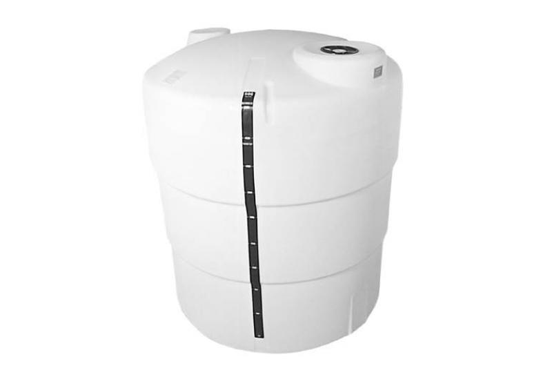 Hastings Vertical Liquid Storage Poly Tank - 500 Gallon