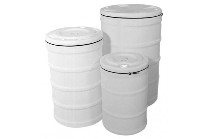 Hastings Dura-Life 15 Gallon Sealable Open Head Plastic Drum