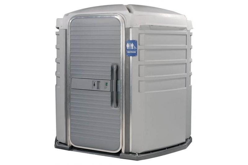 PolyJohn We\'ll Care III Portable Restroom - ADA Compliant